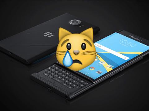 Why BlackBerry's last big phone died