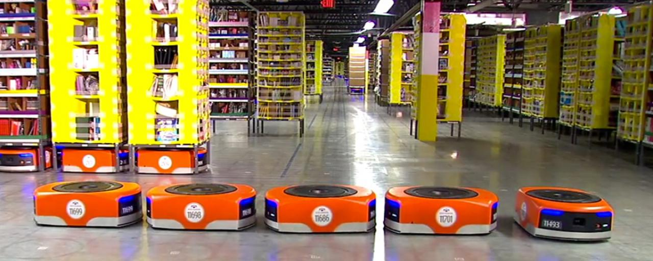 Amazon now has 45,000 robots in its warehouses