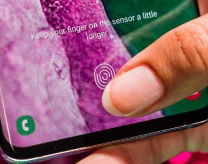 Samsung Galaxy S10 fingerprint sensor fooled by 3D printed fingerprint